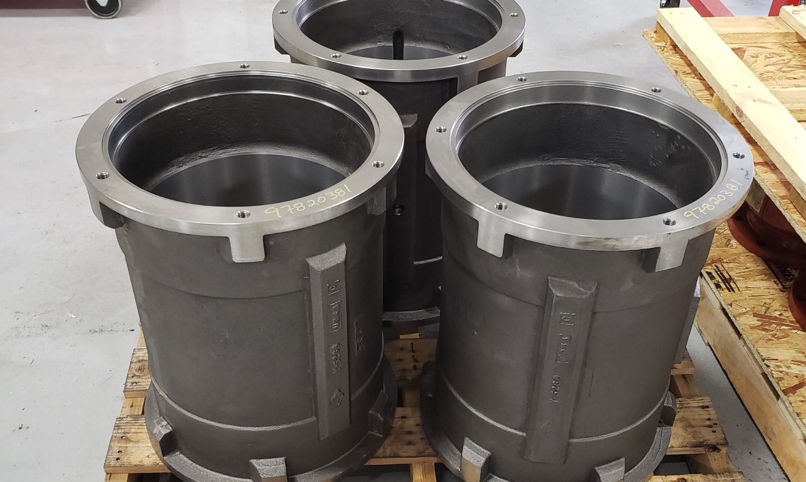 Large Stator Housing for Pumps
