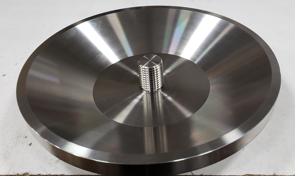 Precision Machined Screw Plate Assembly
